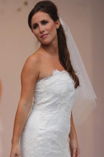 Hochzeitskleid aus Spitze