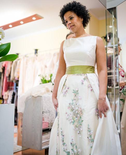 Individuelle Brautmode maßgeschneidert aus Krefeld