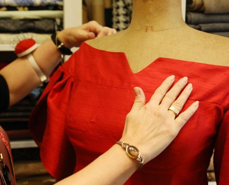 Liebe zum Detail - Mode-Atelier Sandra Wenk in Krefeld