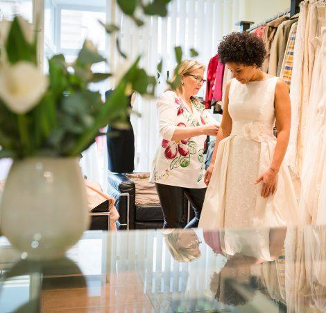Besondere Atmosphäre - Mode-Atelier Sandra Wenk in Krefeld